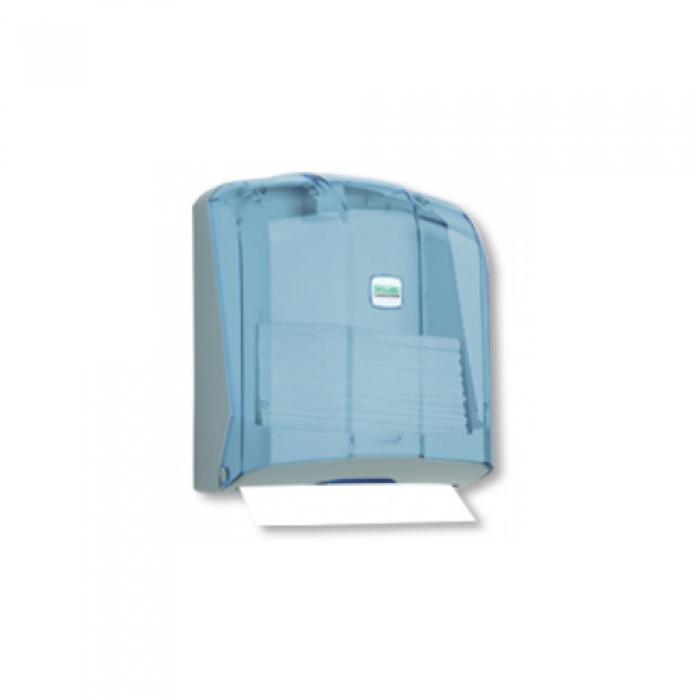 Диспенсер бумажных полотенец, укладка полотенец C-V форма, (прозрачный) К4Т