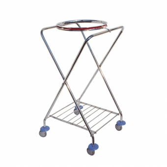 CHROMED TROLLEY