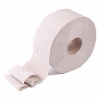 Туалетная бумага серая однослойная