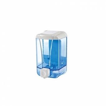 Дозатор жидкого мыла 500 мл, прозрачный, или белый с окошком